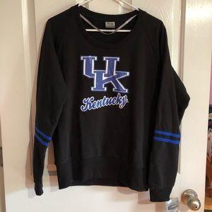 NWT University of KY large sweatshirt juniors L